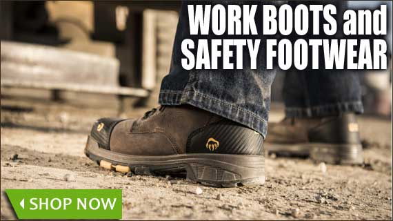 Work Boots and Safety Footwear