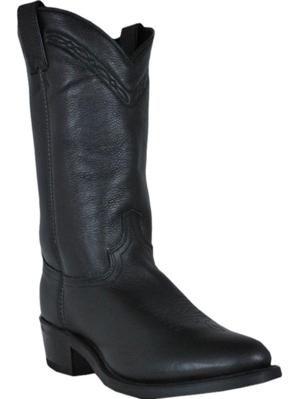 Bootamerica Abilene Mens 12 Quot Black Cowboy Boots 2100