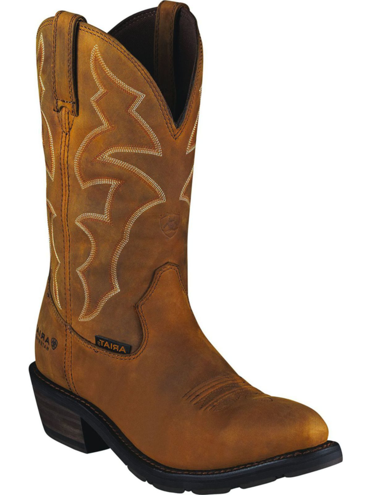 bootamerica ariat mens ironside h2o dusted brown 10006299