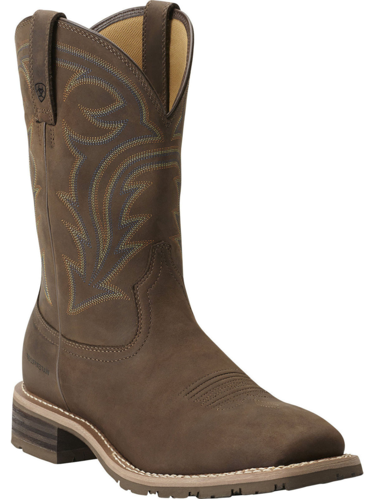 2920af86d4f Ariat Mens Performance Hybrid Rancher H2O Oily Distressed Brown Cowboy Boot  10014067