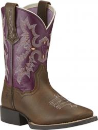 46f940a7719 BootAmerica : Ariat Youth Western Dakota Dogger Brown Crinkle Dakota ...
