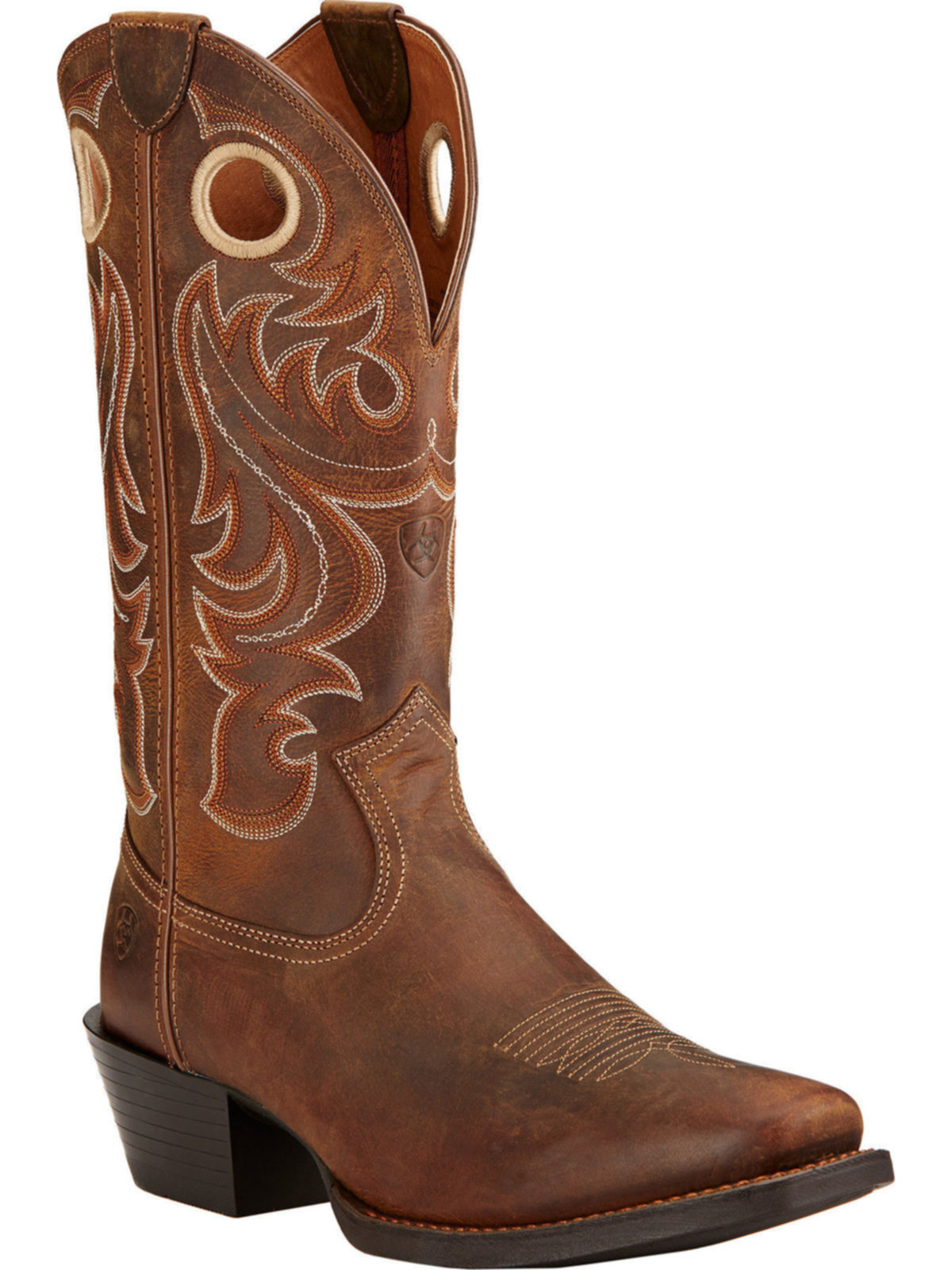 eb43cfb47ed BootAmerica   Ariat Mens Performance Sport Square Toe Powder Brown ...