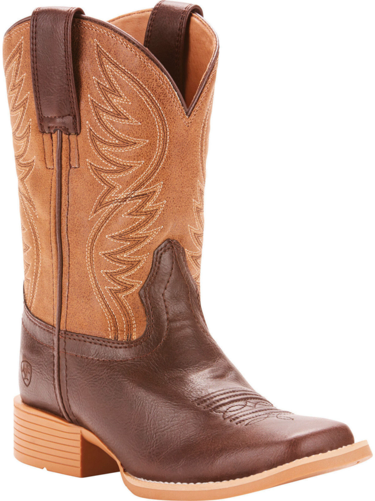 1d7852a3f17 Ariat Youth Western Cowpoke Brumby Fudgesicle Cowboy Boot 10025169