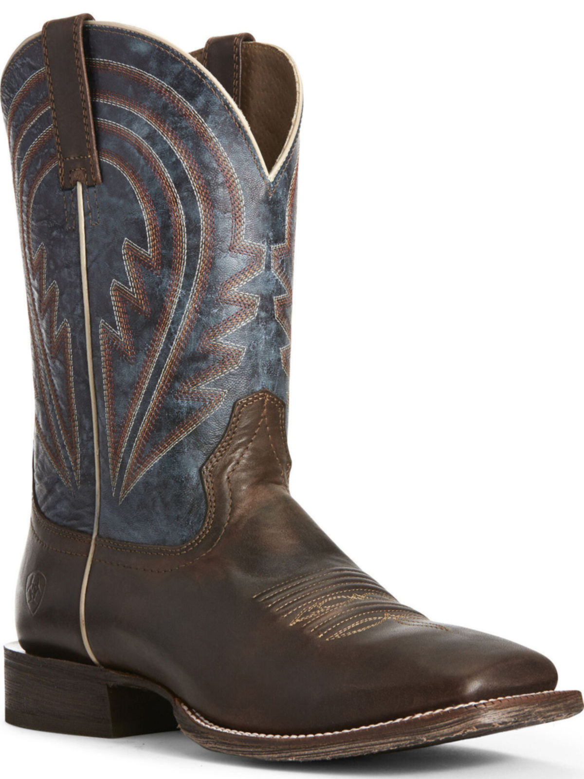 c91de7a91 BootAmerica   Ariat Mens Circuit Herd Boss Sweet Molasses Cowboy Boot  10027195