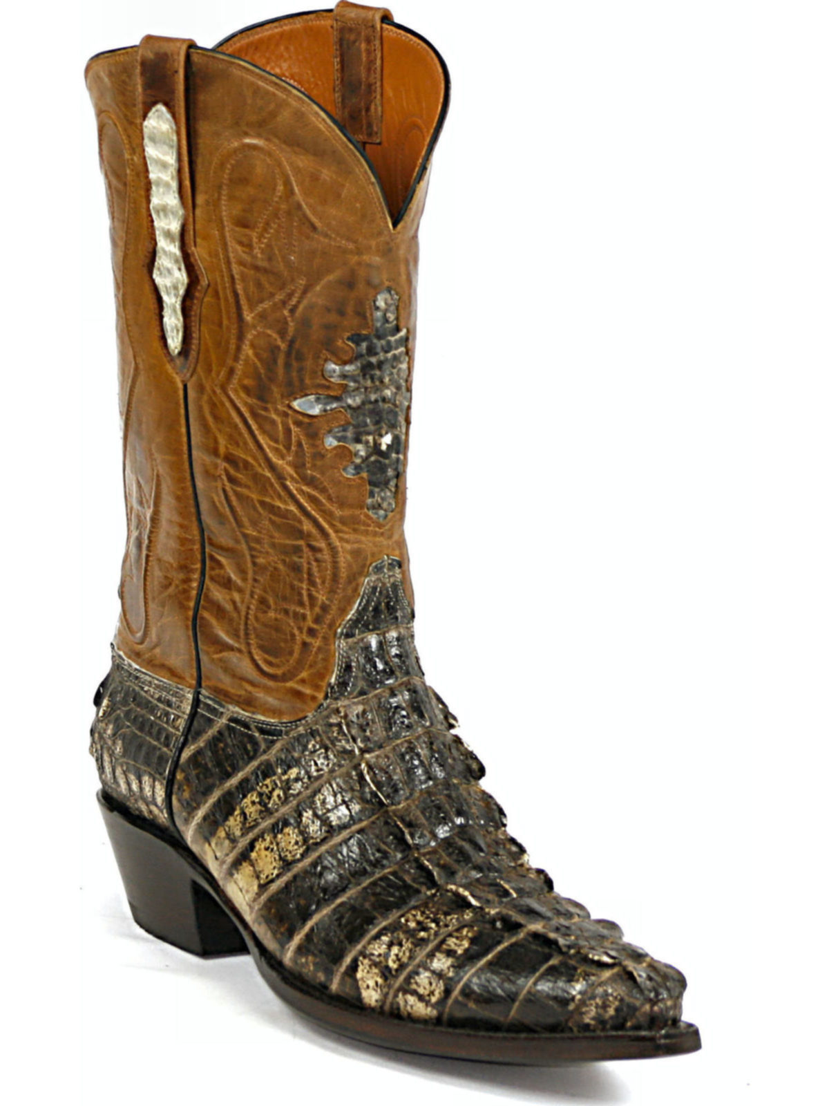 Bootamerica Black Jack Boots Shield Inlay With Cord