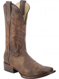 baae1fe05c9 BootAmerica : Corral Womens Lizzie Black Vintage Lizard Inlay Snip ...