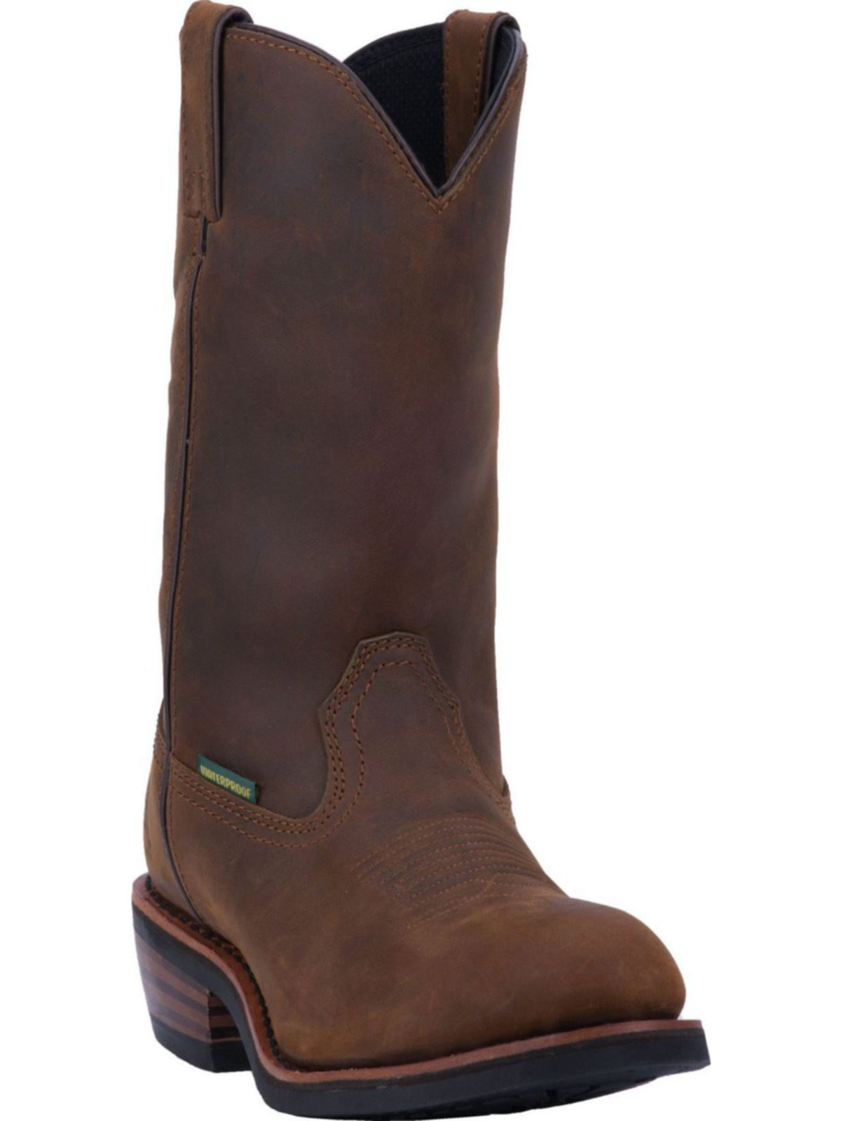 Bootamerica Dan Post Mens Albuquerque Waterproof Tan