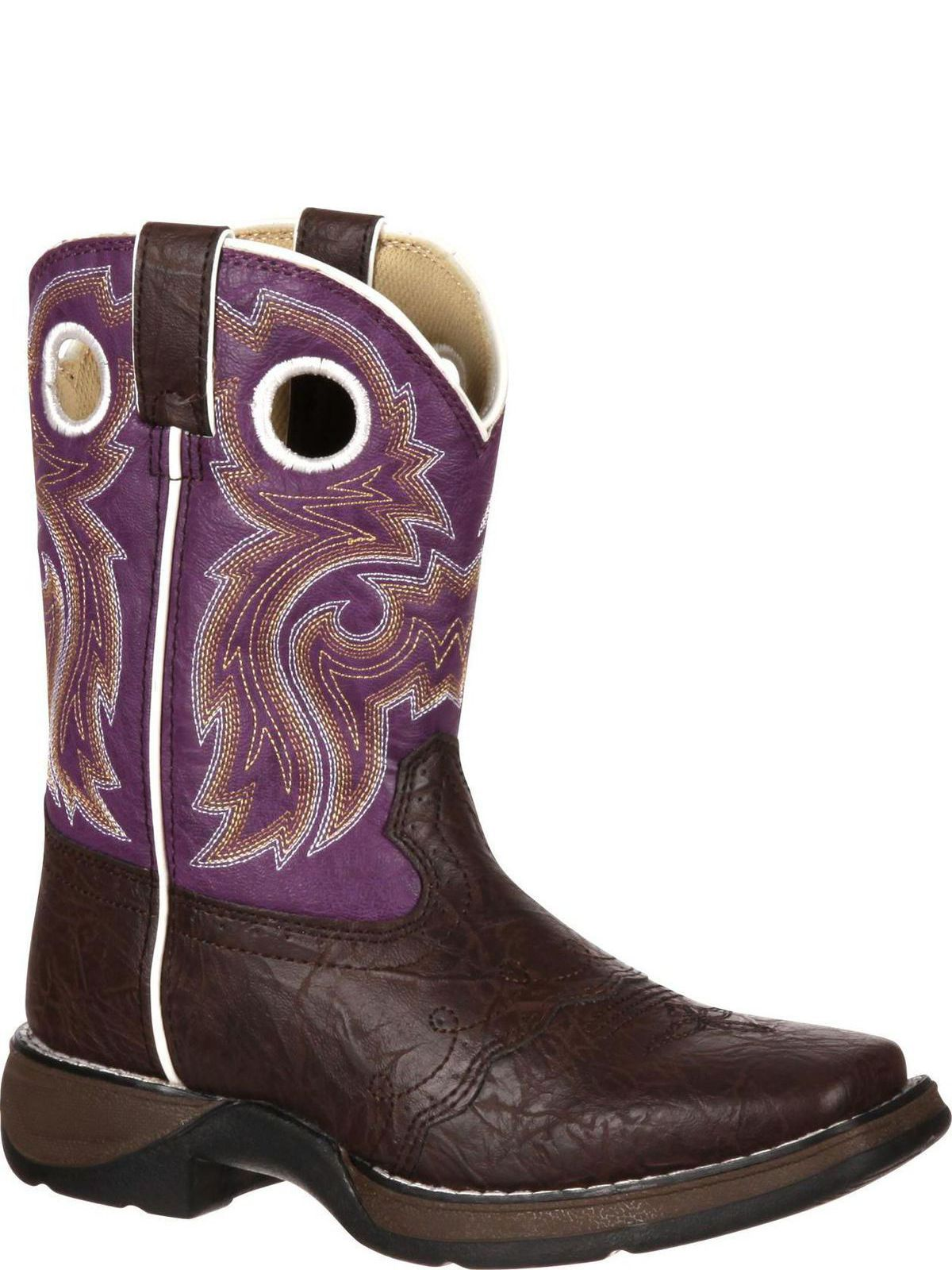 Lil Durango Youth Camo Saddle Western Boot DBT0121