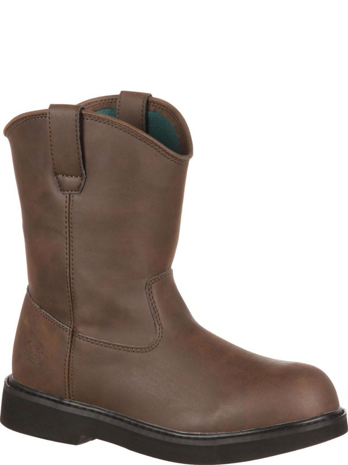 bootamerica boot kid pull on boot g099