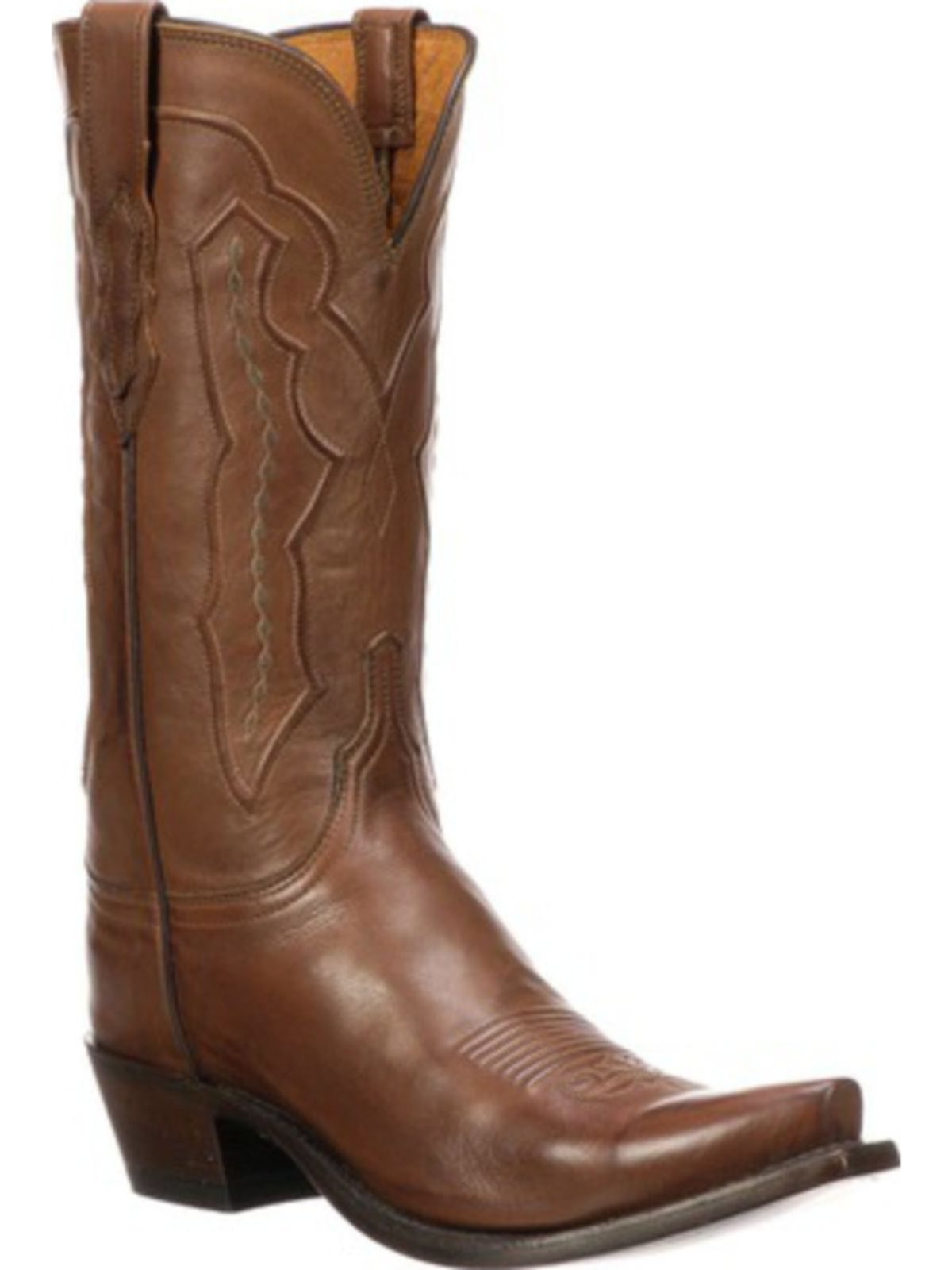 Bootamerica Lucchese Womens Grace Tan Ranch Hand Western