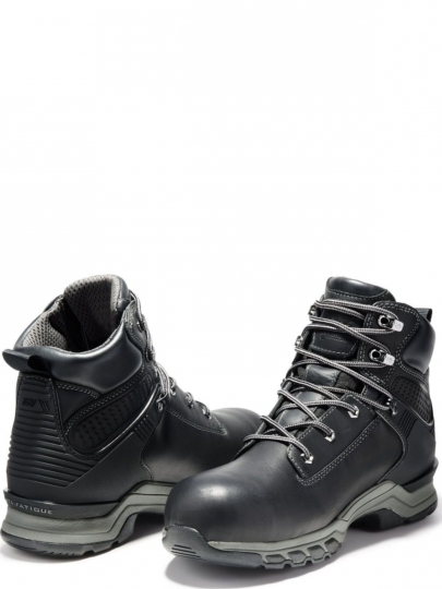 2f54bef2d6d Timberland Pro Mens Hypercharge 6 inch Composite Safety Toe Waterproof  Boots TB0A1RU5001