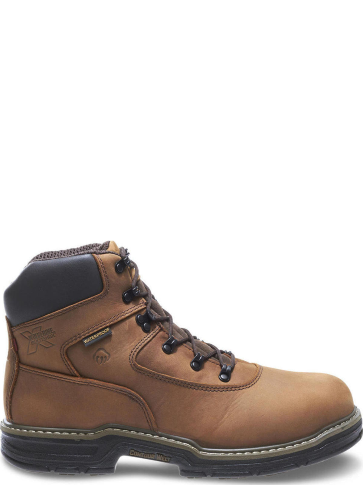 0ef9ff31da6 Wolverine Mens Marauder Waterproof Steel-Toe EH Lace Up 6