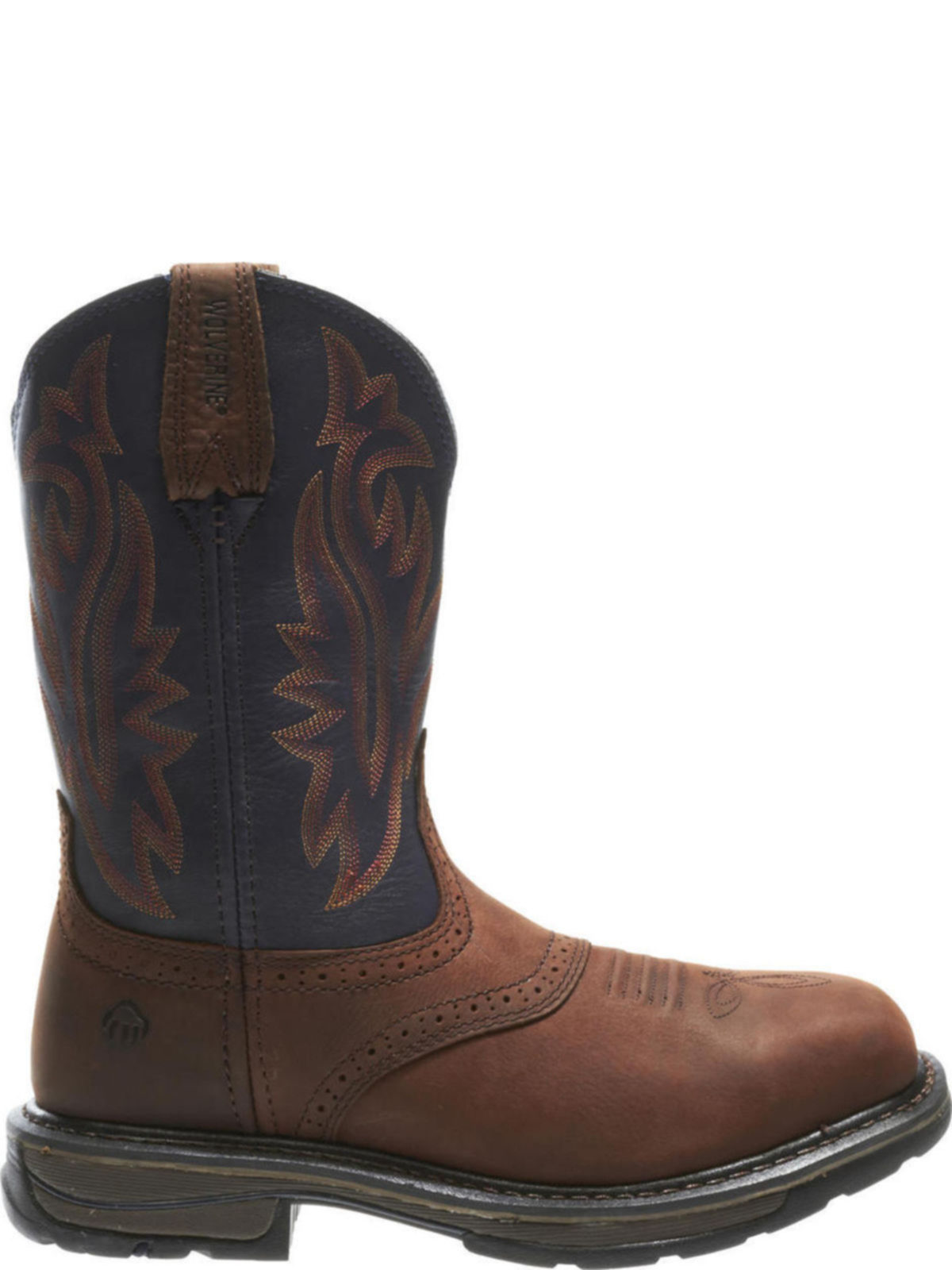 ed2c3412668 Wolverine Mens Javelina High Plains Western Wellington Work Boots W10244