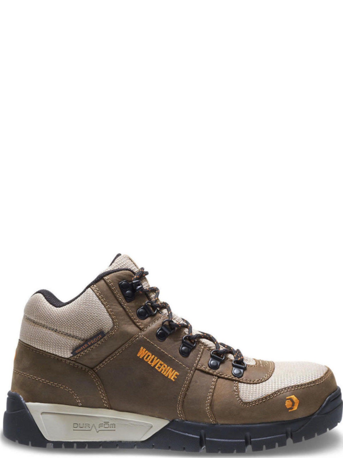 15fd88ea624 Wolverine Mens Mauler Hiker CarbonMax Tan Work Boots W10726