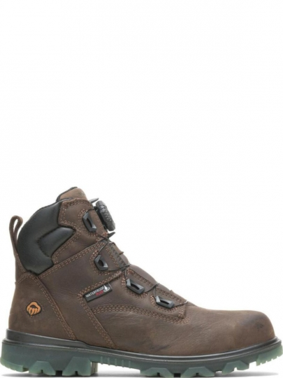 Wolverine Mens I-90 Epx Boa CarbonMax 6 Inch Coffee Bean Leatherindustrial-and-Construction-Shoes